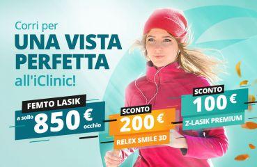 Sconto per ReLex SMILE 3D & Z-LASIK Premium metodi